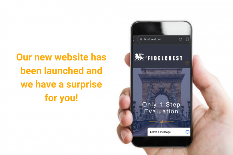 Fidelcrest New Website Surprise