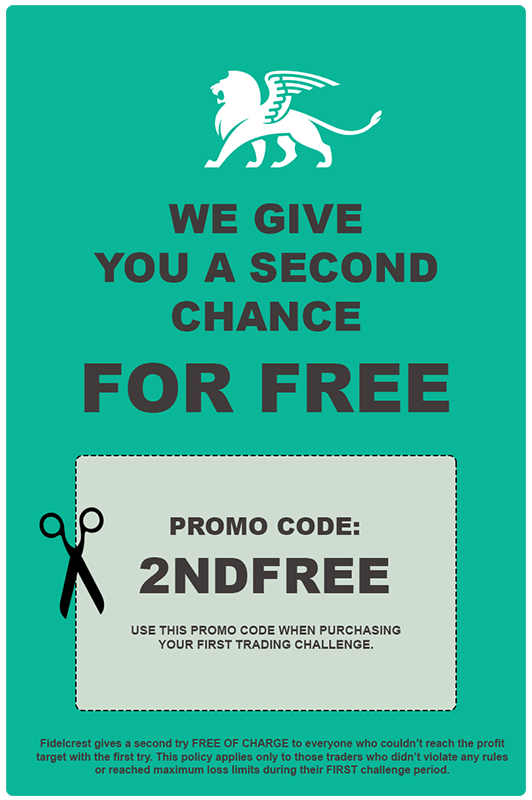 Use Promo Code to get 2nd chance free