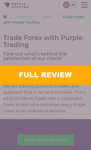 Purple Trading for Fidelcrest Trading Challenge